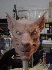 The William head sculpture.