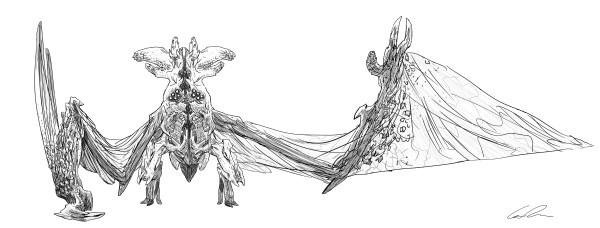 Bat Ears Brady concept by Guy Davis.