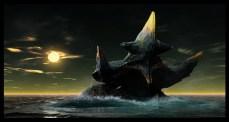 Unnamed Kaiju concept by Simon Webber.