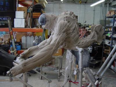 Sculpting the Creatures.