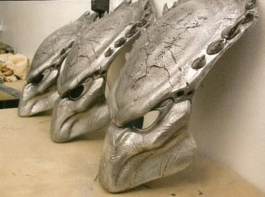 Wolf's masks.