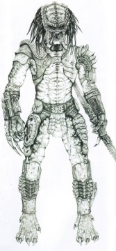 John Rosengrant's render of the Predator.