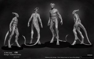 Concept art of Naberius.