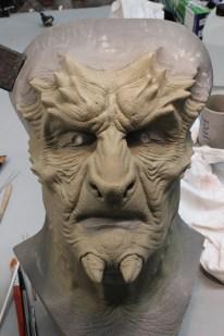 The Naberius sculpture.