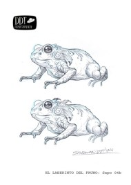 Concept art of the toad by Sergio Sandoval.