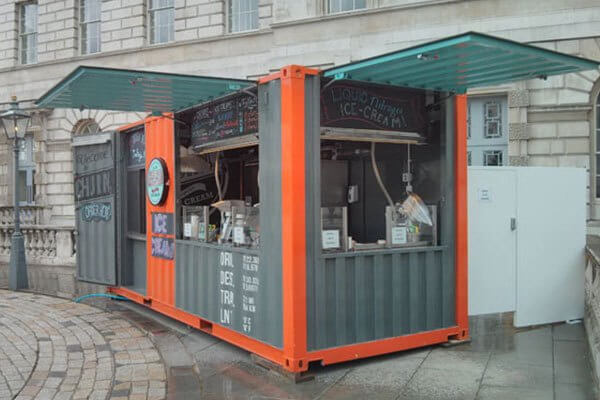 bisnis kuliner booth container