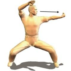 karate horse stance