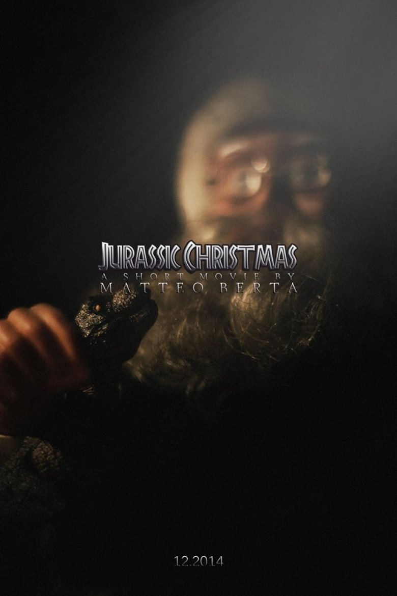 Jurassic Christmas short film poster