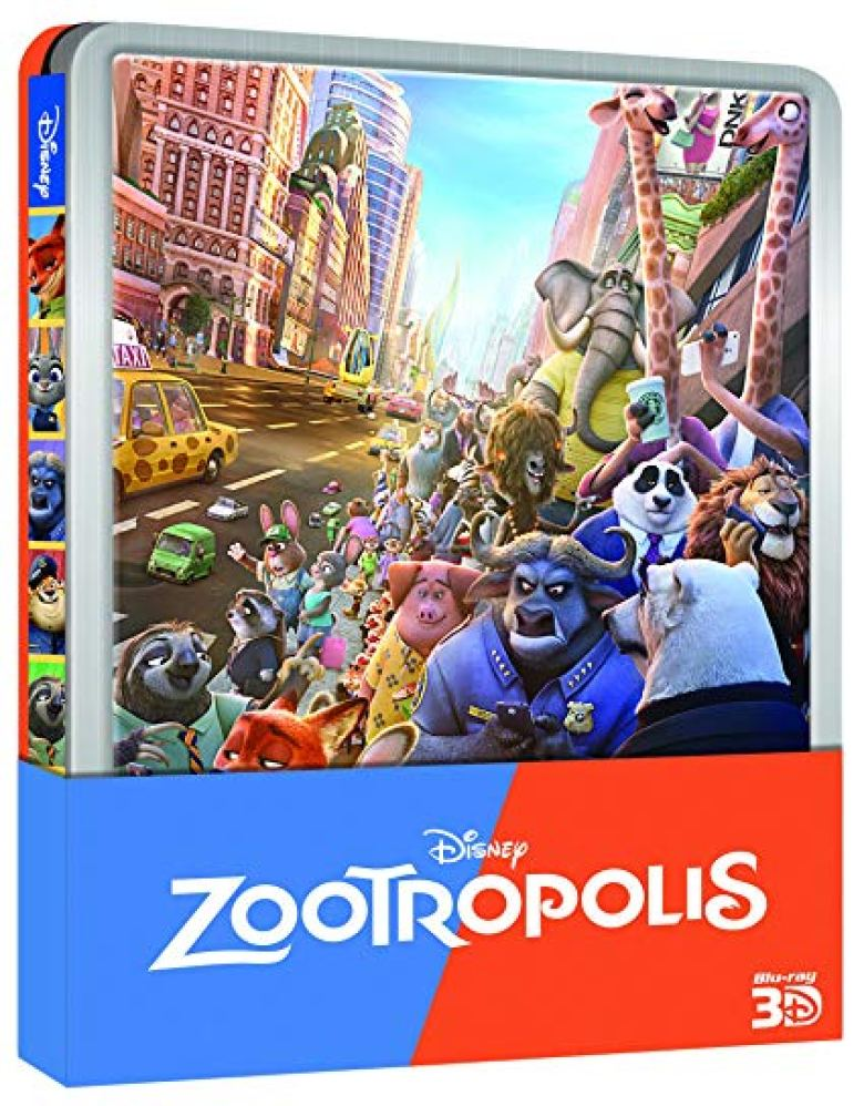 Zootopia Blu-ray steelbook link acquisto