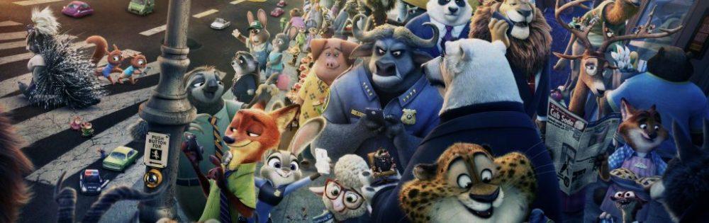 Zootopia poster personaggi principali
