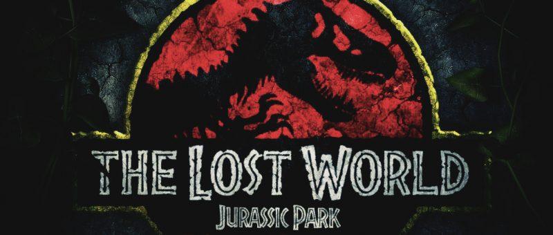 Mondo perduto Jurassic Park logo poster