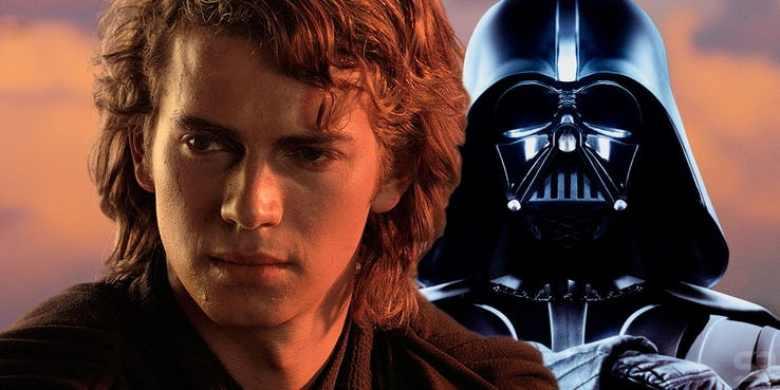 Anakin e il futuro Darth Vader