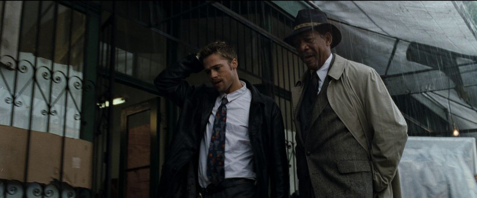 Morgan Freeman Brad Pitt Seven