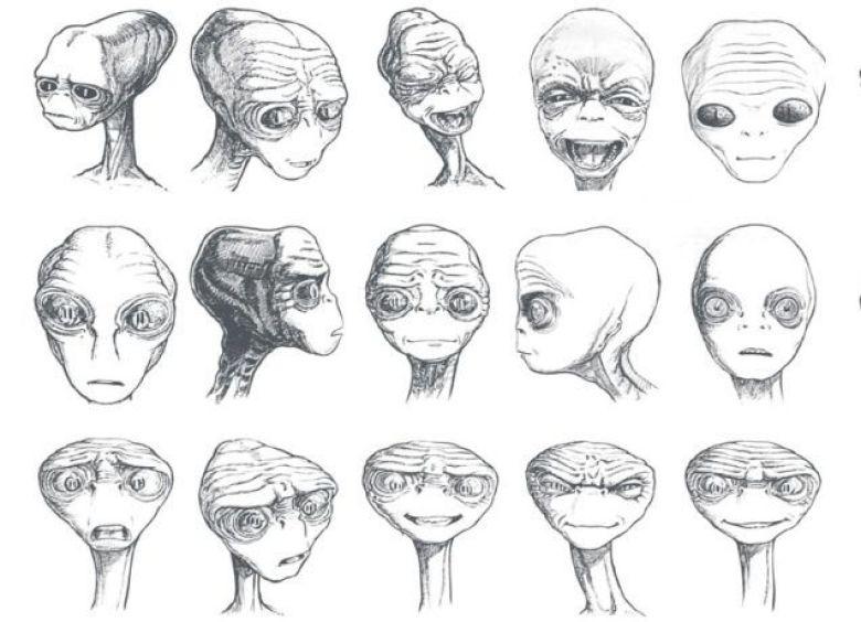 E.T. concept art inediti