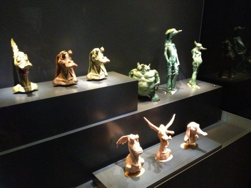Jar Jar Binks modellini esposti