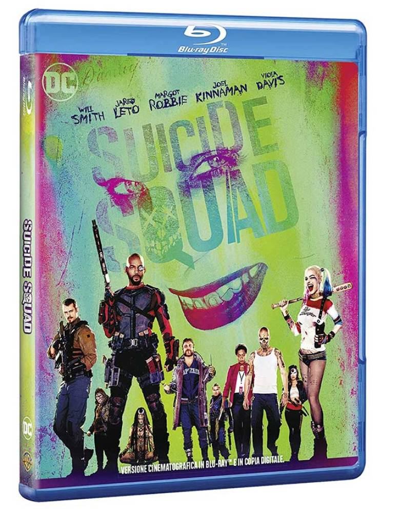 Suicide Squad Blu-ray su Amazon