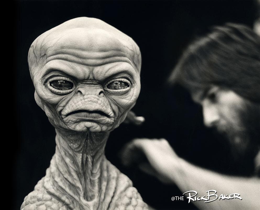 ET di Rick Baker