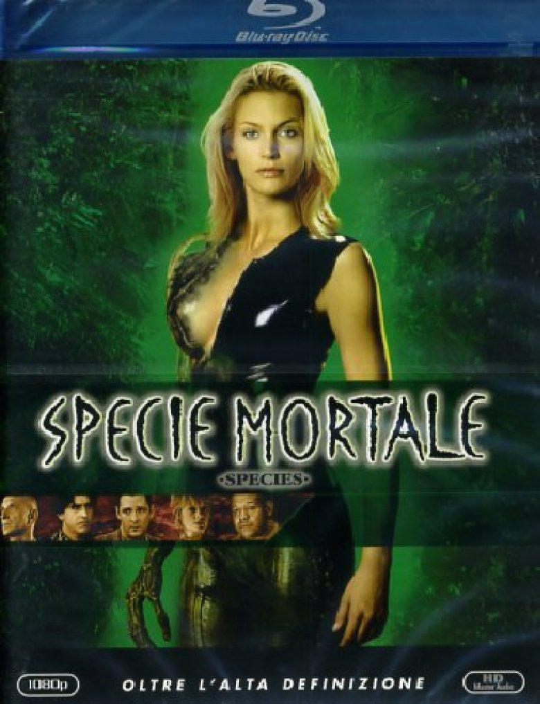 Specie mortale Blu-ray disc