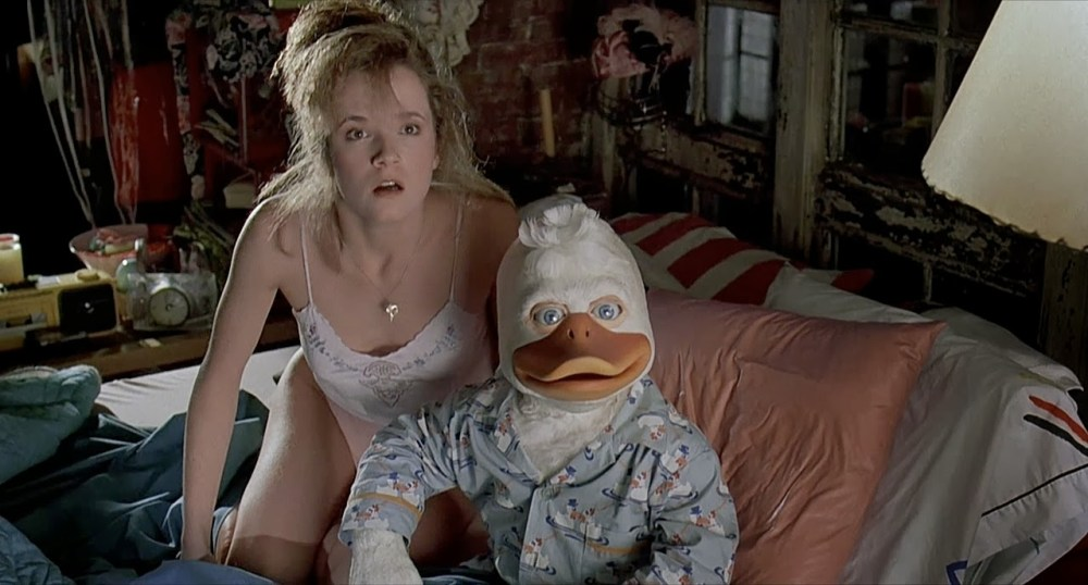 howard the duck con ragazza sexy