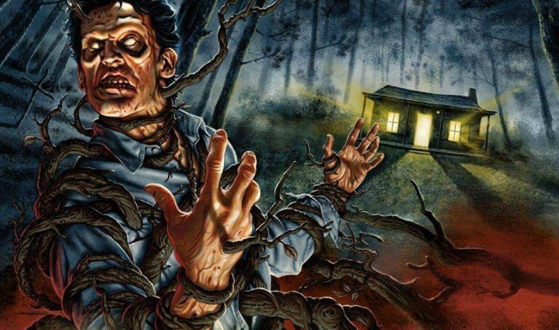Ash Williams Evil Dead art