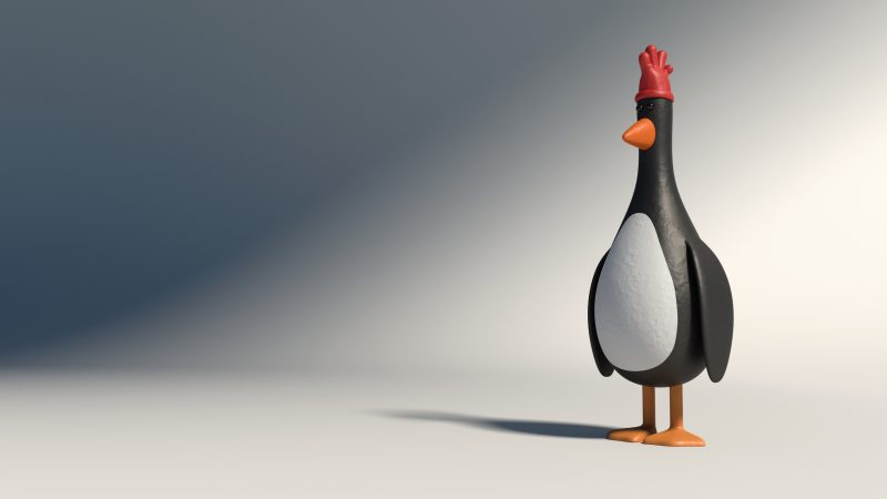 Feather-McGraw penguin evil villain cinema monster