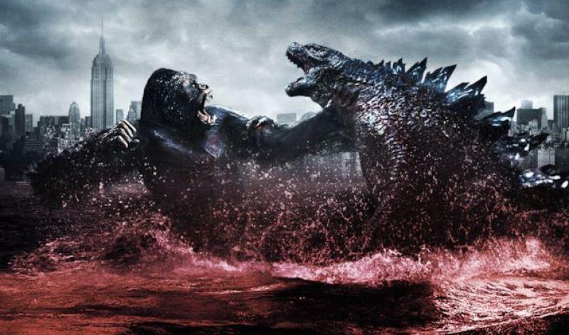 Godzilla contro Kong fan art