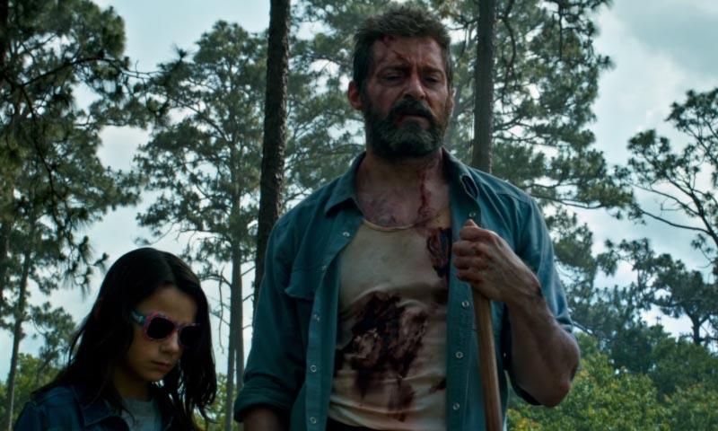 Logan e X-23 film