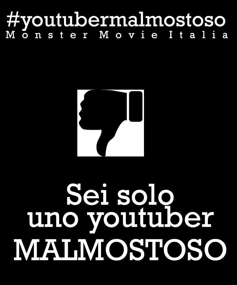 youtuber malmostoso monster movie italia montemagno