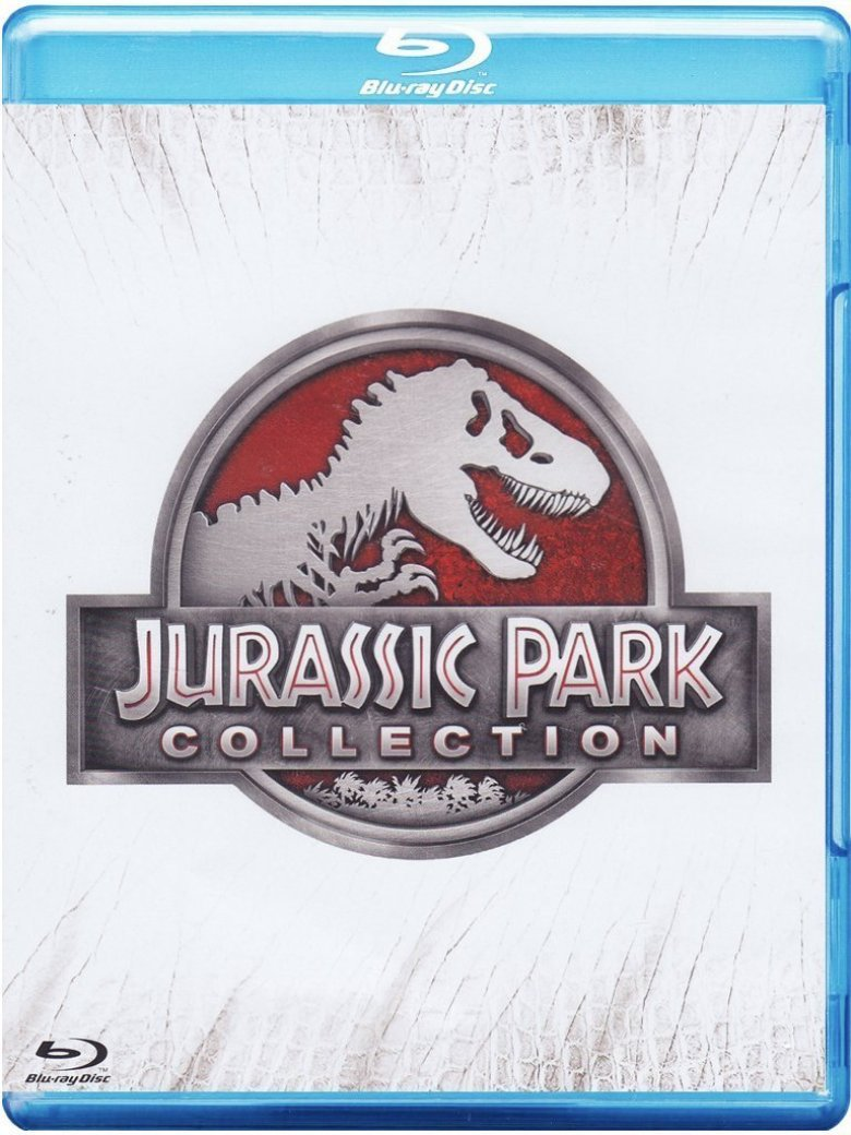 Jurassic Park Collection 4 Blu-ray