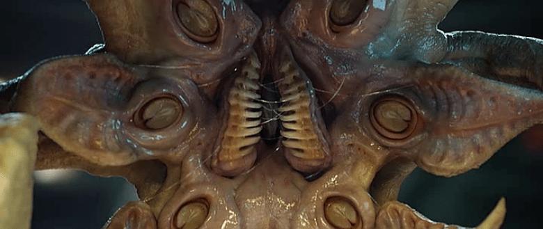 Primo piano Trilobite Prometheus