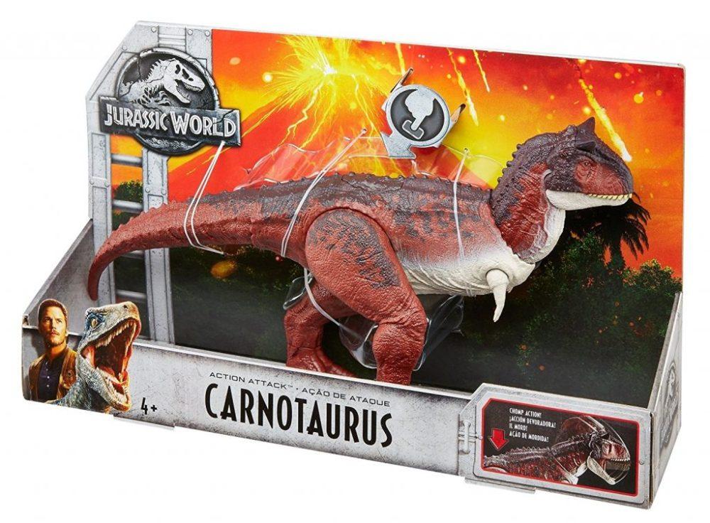 Carnotauro giocattolo Amazon Jurassic World