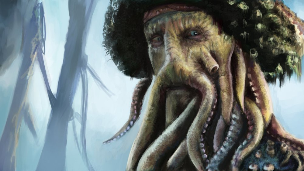 davy jones monster movie back hot