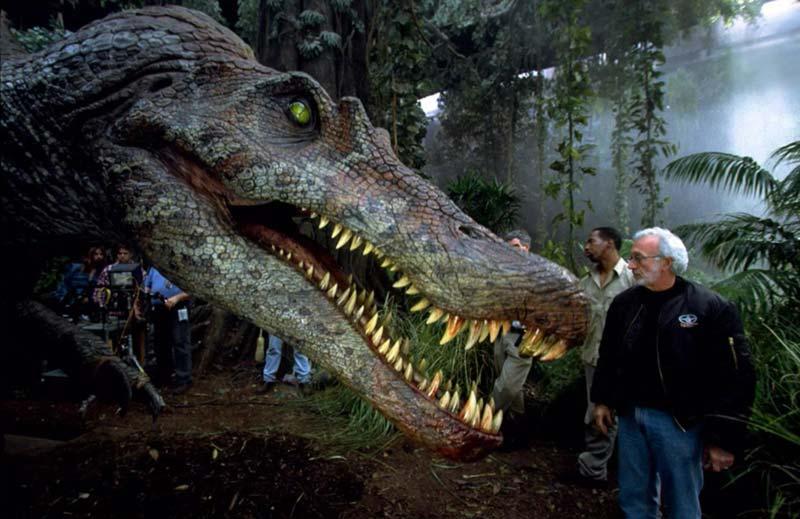 Spinosauro dietro le quinte Jurassic Park 3