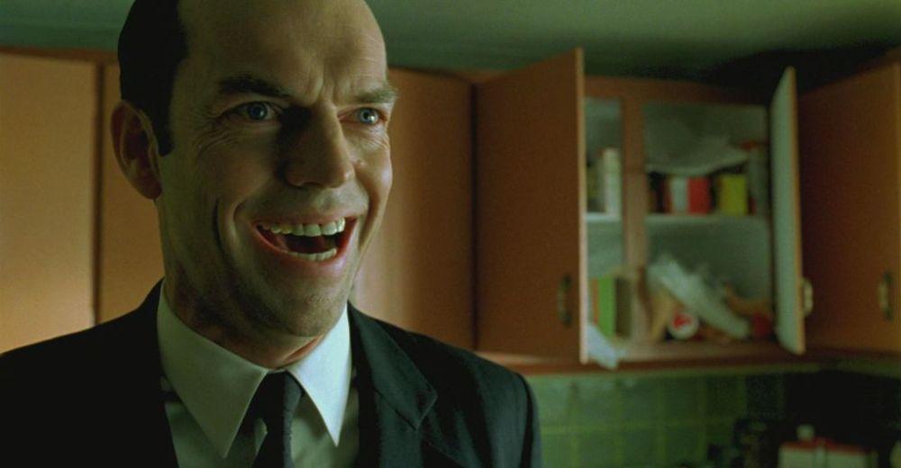 Smith risata in Matrix Revolutions
