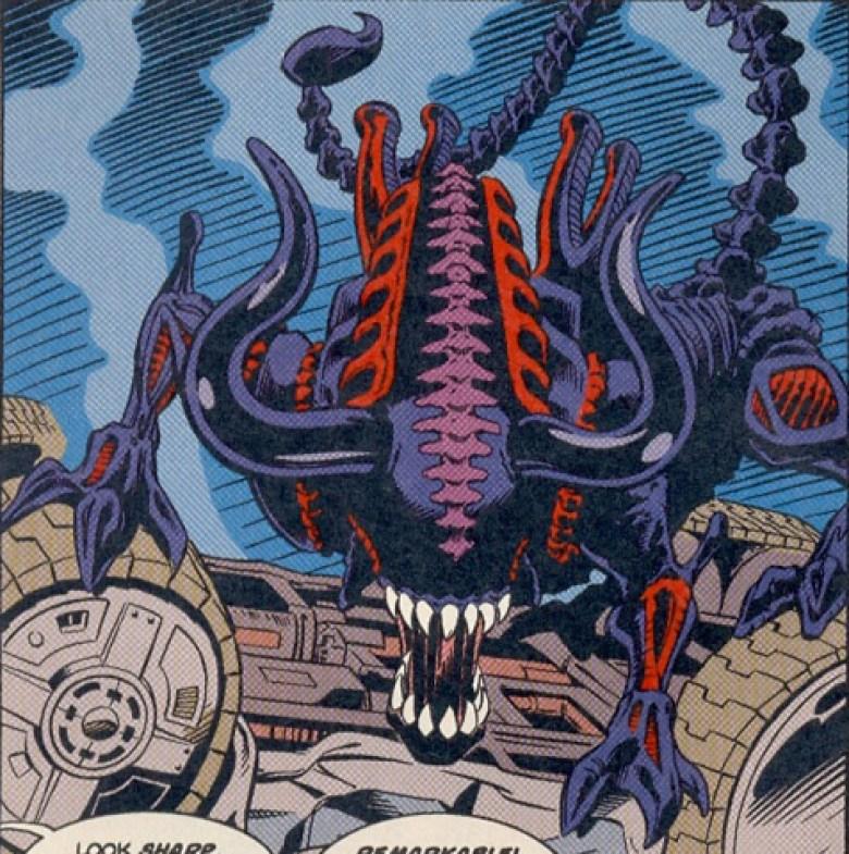 Alien Bull art