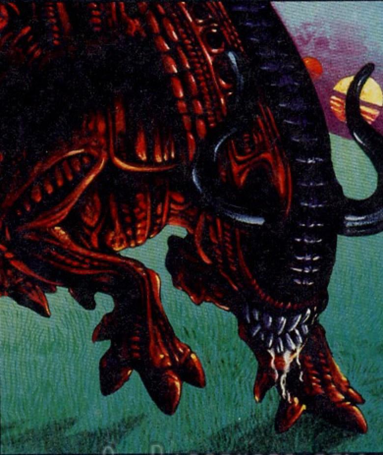Alien Bull concept art