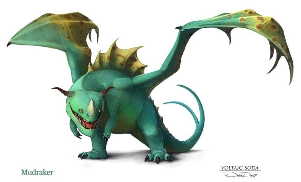 Mudraker Dragon Trainer Bestiario