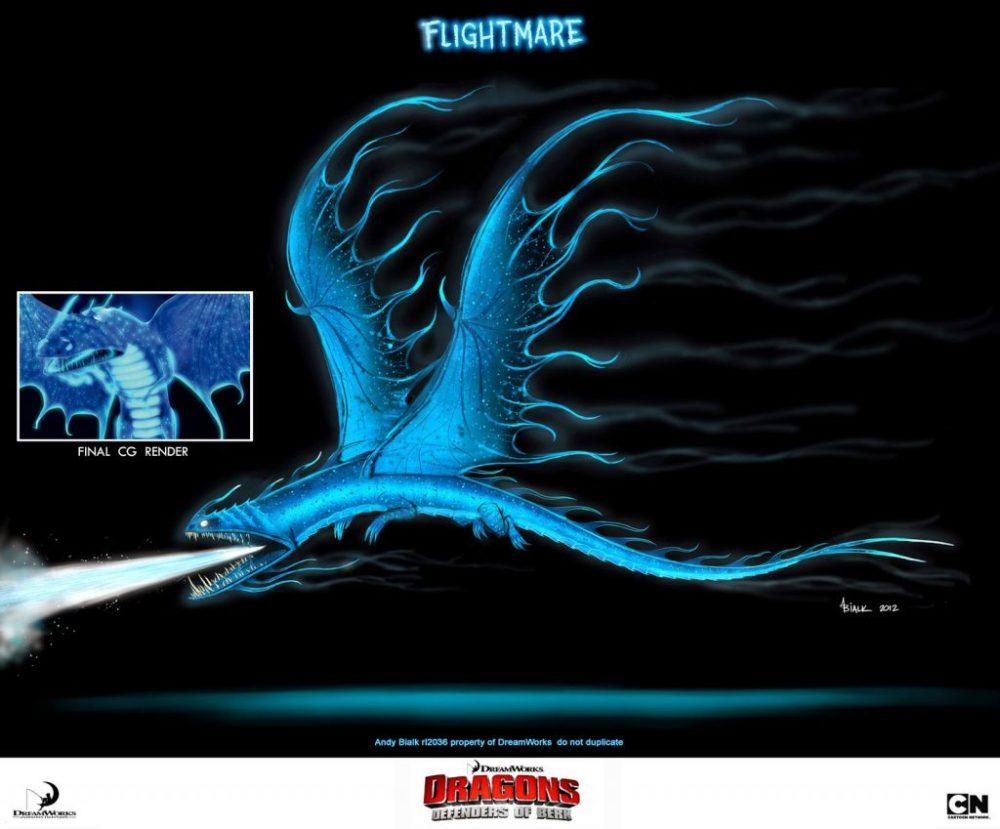 Flightmare Incubo Volante Dragon Trainer