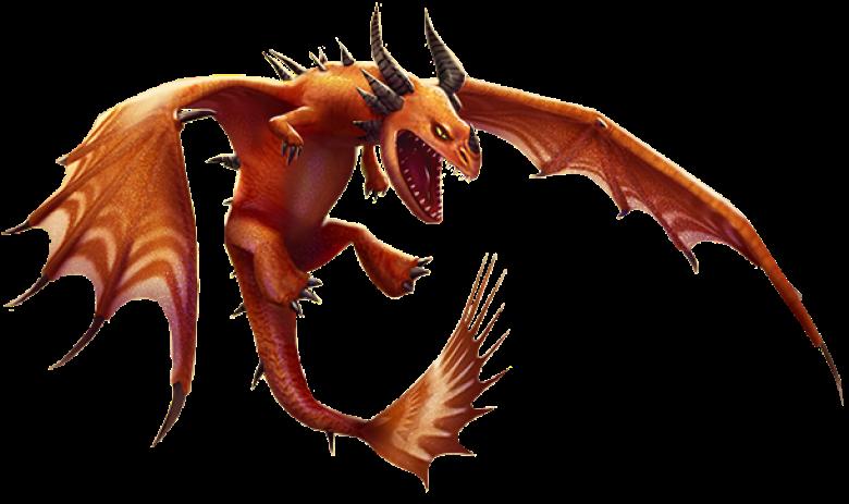 Moldruffle Muffa Increspata Dragon Trainer