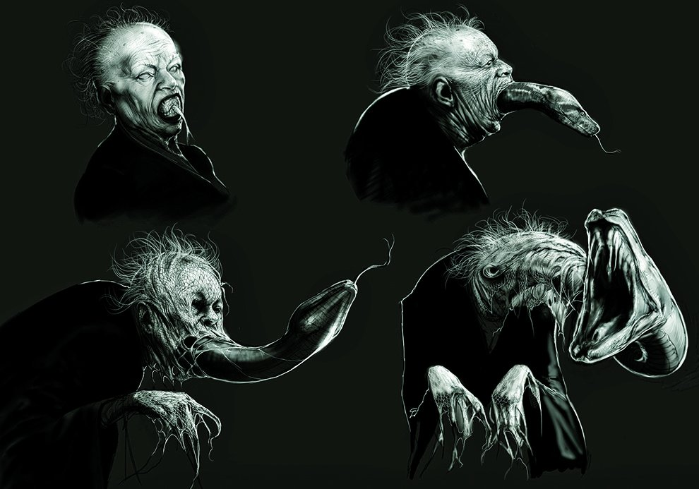 Harry Potter snake fan art