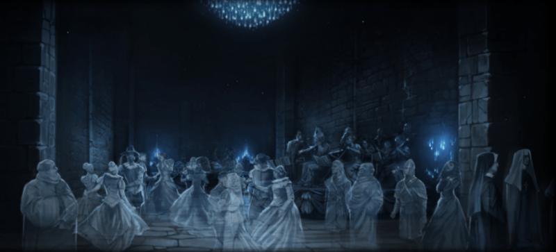 Congrega di fantasmi di Hogwarts