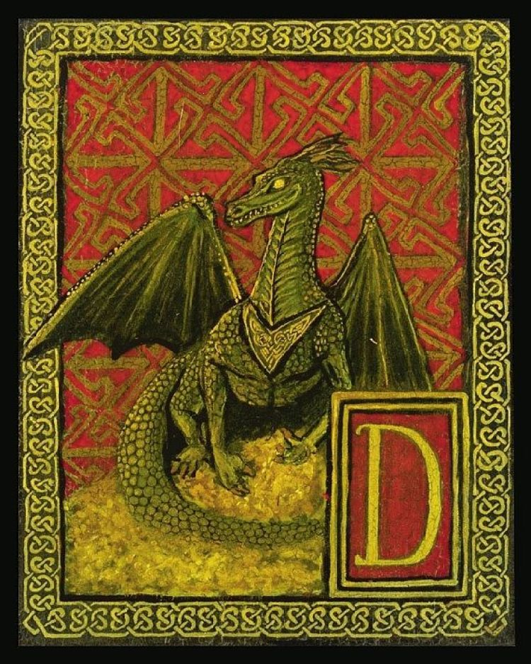 7d6adddf7fc233e2058c8f45d221f430--dragon-medieval-celtic-dragon
