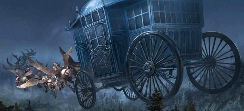 Cavalli alati di Beauxbatons
