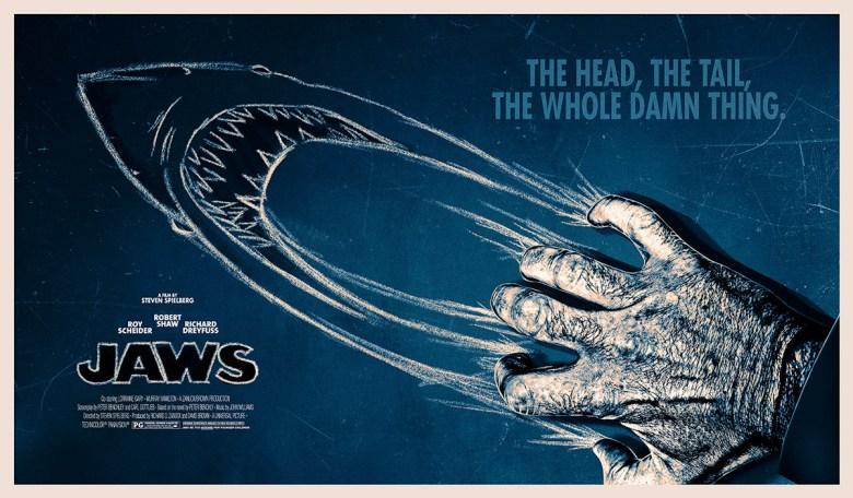 Manifesto promozionale di Jaws