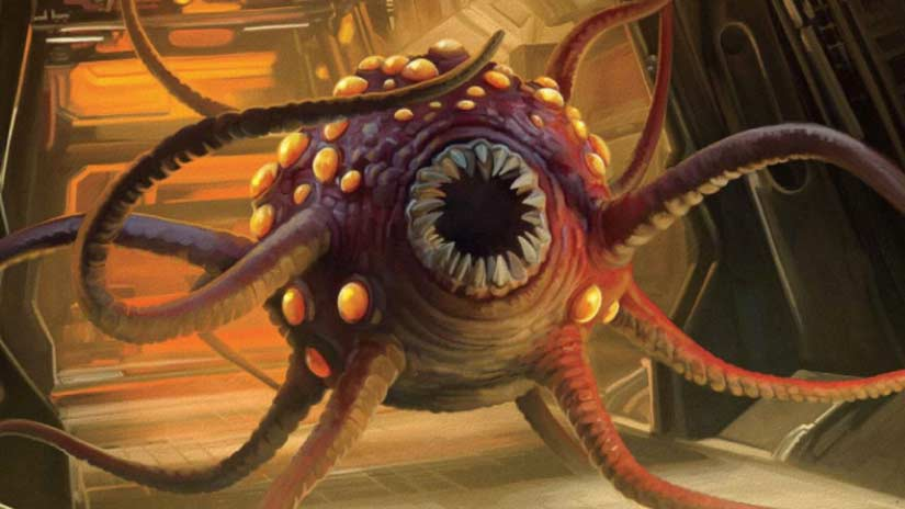 Rathtar mostro tentacoli Star Wars