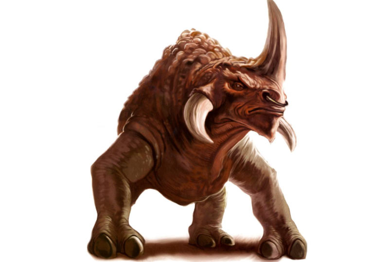 Reek rinoceronte mostruoso star wars