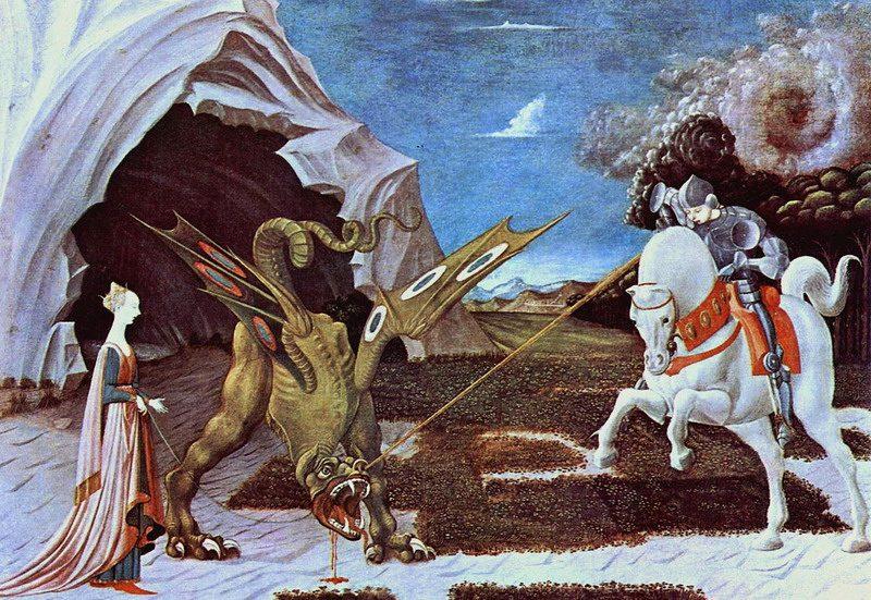 San Giorgio contro il drago