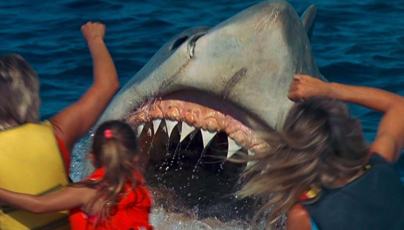Lo squalo 4 la vendetta animatronic