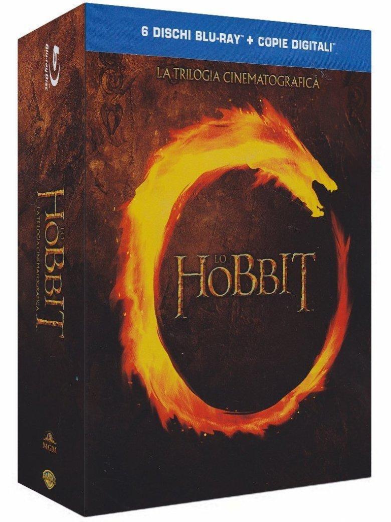 The Hobbit trilogia cinematografica Blu-ray