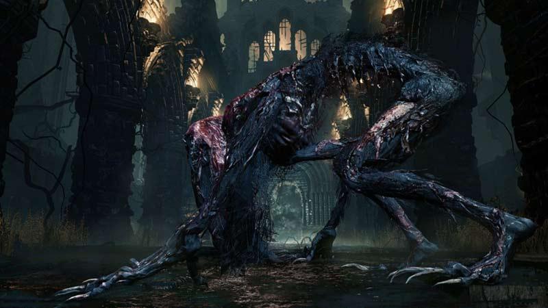 Bestia assetata sangue Bloodborne